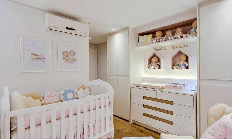 Ticiane Pinheiro mostrou o quarto de sua filha