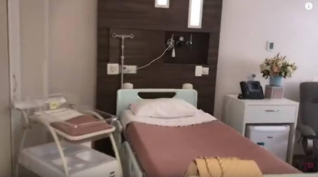 O quarto de maternidade de Ticiane Pinheiro