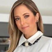 Ticiane Pinheiro fez um registro de Rafaella Justus