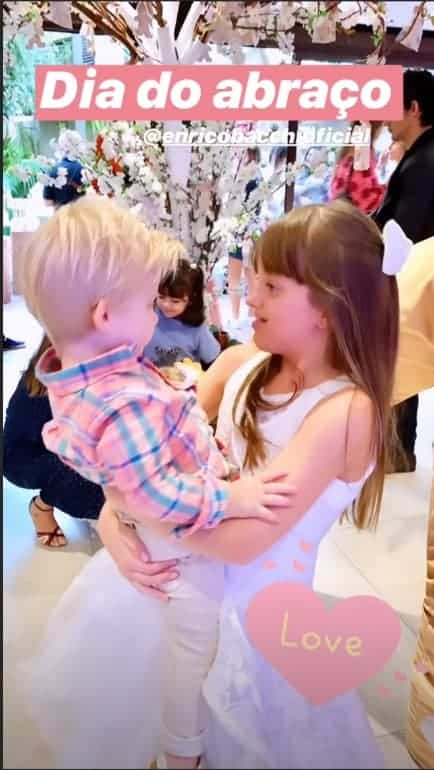 Filhos encantam mamãe Ticiane Pinheiro