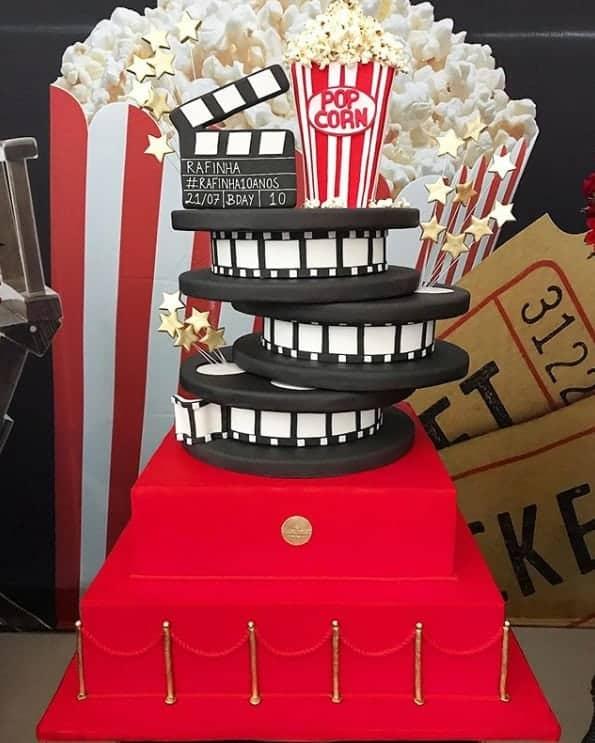 O bolo do aniversário da filha de Ticiane Pinheiro e Roberto Justus