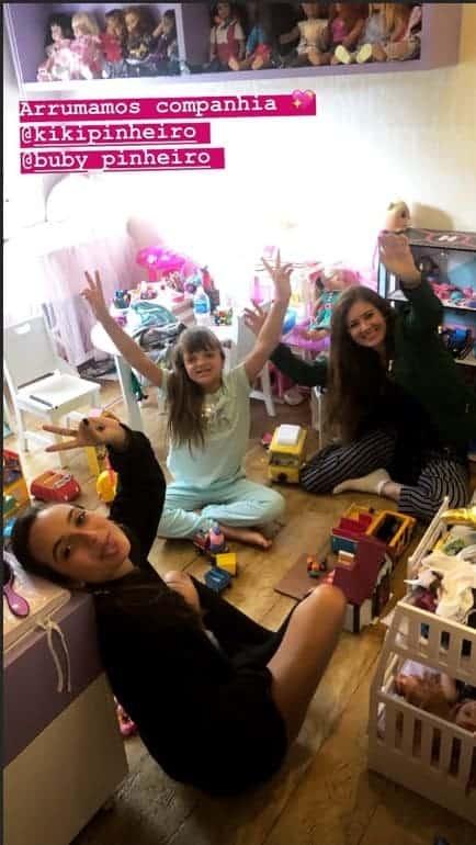 Quarto de brinquedos da filha da apresentadora Ticiane Pinheiro