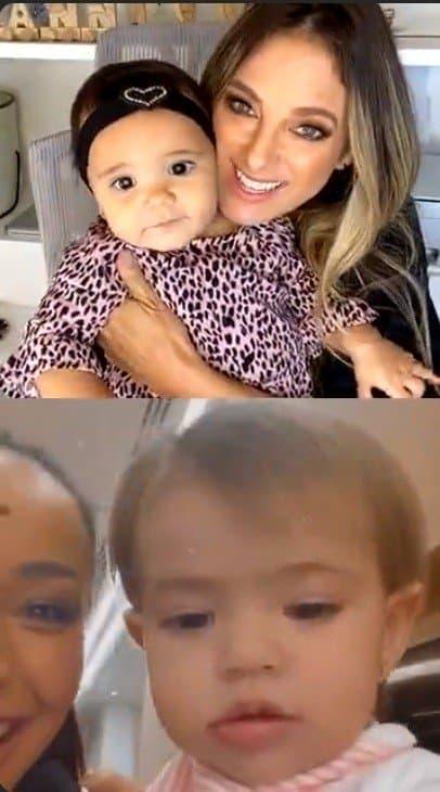 Encontrinho das filhas de Sabrina Sato e Ticiane Pinheiro