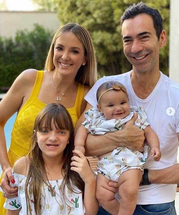Ticiane Pinheiro e Tralli com Manuella e Rafinha