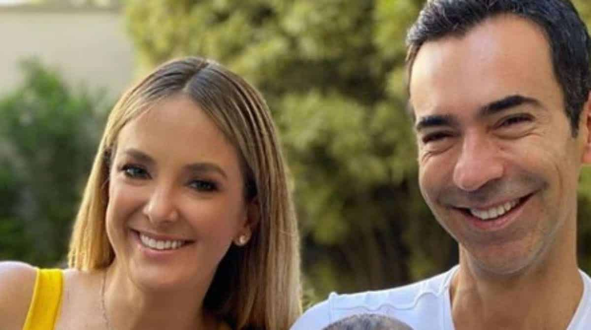 Ticiane Pinheiro mostrou Tralli com a filha e se declarou