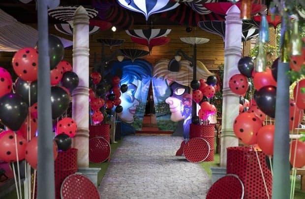 Imagem da entrada da festa de aniversário de 5 anos da fofa Titi