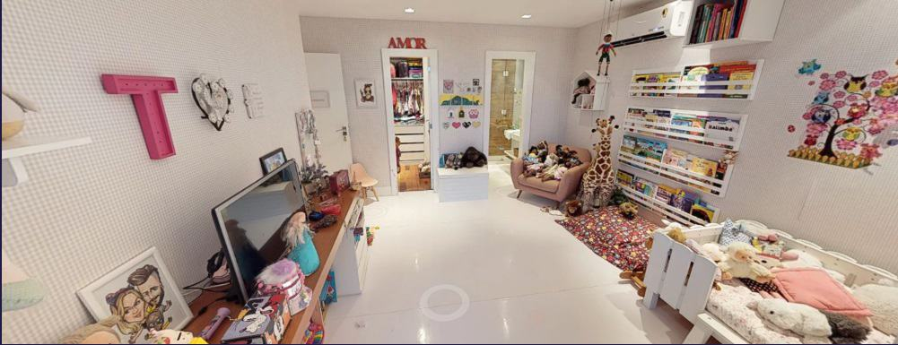 Mais detalhes do quarto da pequena Titi