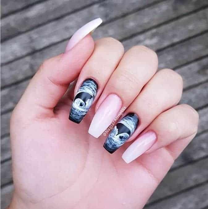 Mais uma forma de nail art com ultrassom