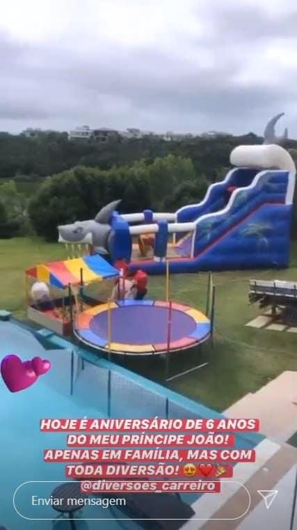 A festa de seis anos do filho de Wanessa Camargo