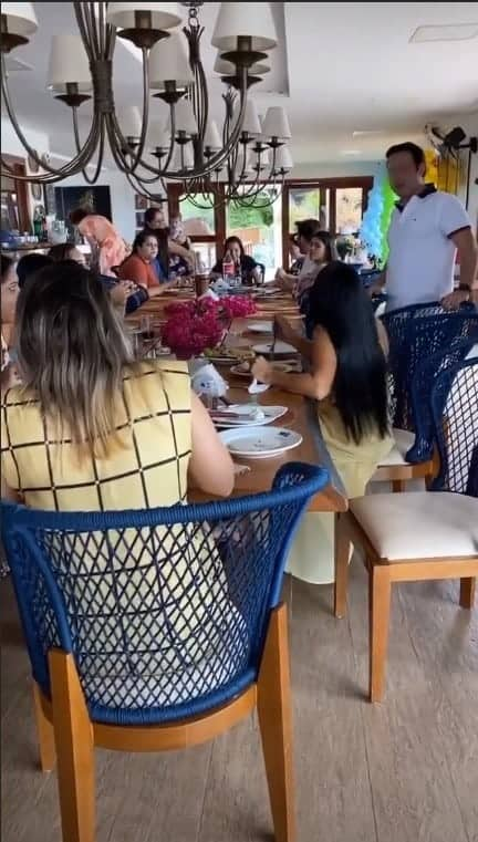 Convidados na festa da filha de Wesley Safadão