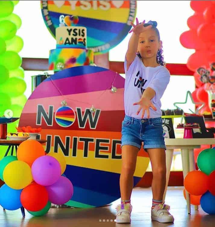 A filha de Wesley Safadão no seu aniversário