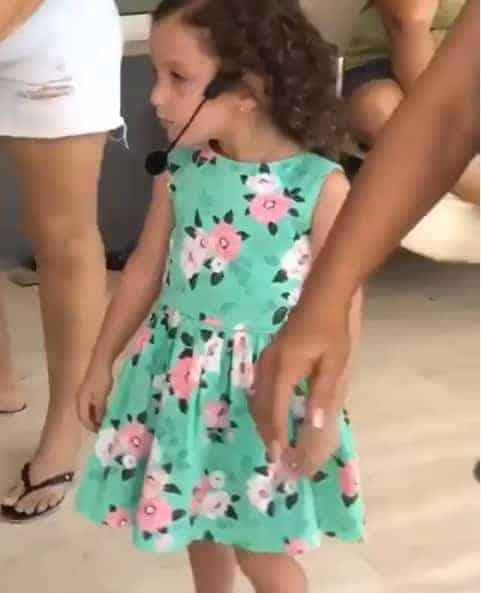 A filha de Wesley Safadão completou quatro anos