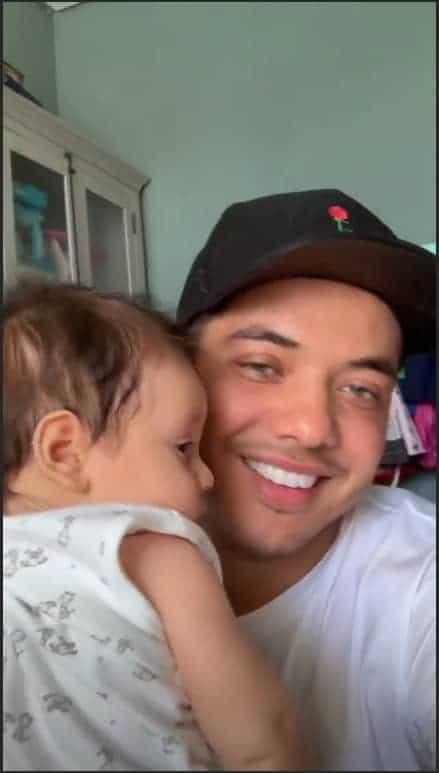 Papai Wesley Safadão com seu filho o fofíssimo Dom