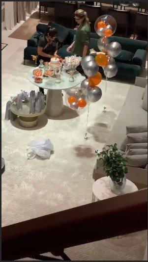 Linda decoração da festa do filho de Wesley Safadão