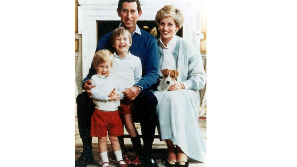 William e Harry também usavam shorts