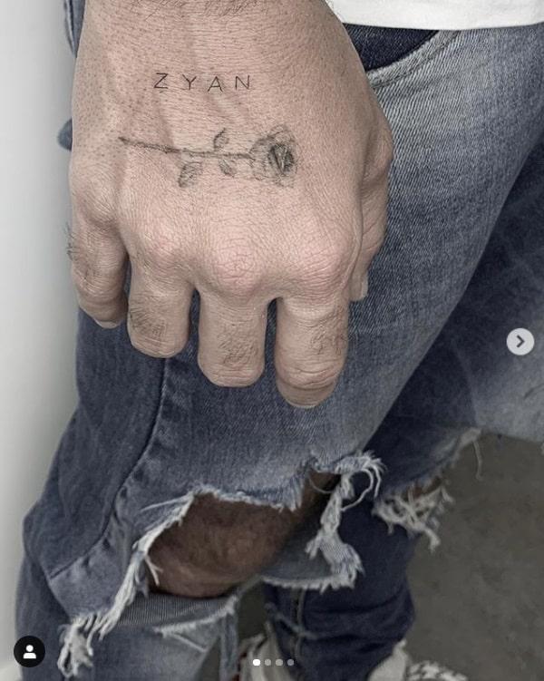 Tatuagem de Bruno Gagliasso para seu bebê