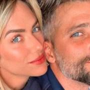 Bruno Gagliasso e Giovanna Ewbank apareceram com seu caçula