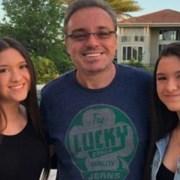 Filha de Gugu Liberato apresentou o namorado
