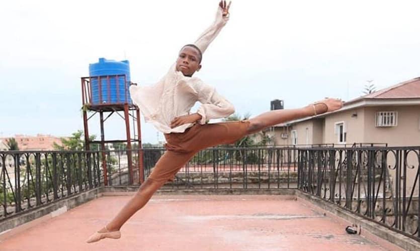 O garoto vai estudar ballet nos Estados Unidos