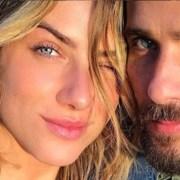 Bruno Gagliasso e Giovanna Ewbank mostraram o rosto de seu filho