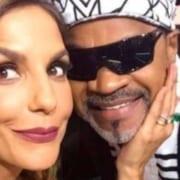 Ivete Sangalo mostrou homenagem da filha pra Carlinhos Brown