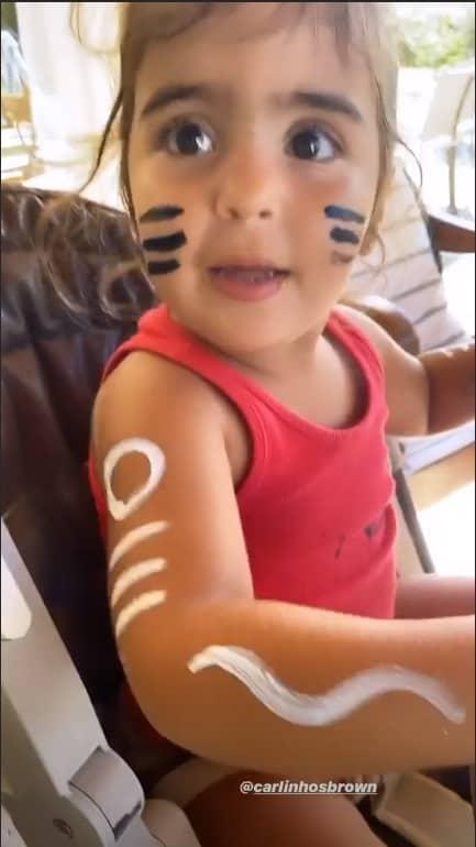 Filha de Ivete Sangalo homenageando o Timbalada