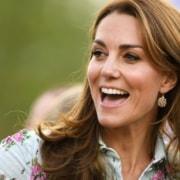 A duquesa Kate Middleton mostrou os três filhos