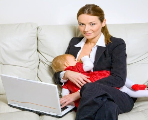 A ideia é que a licença-maternidade dure até o final do ano