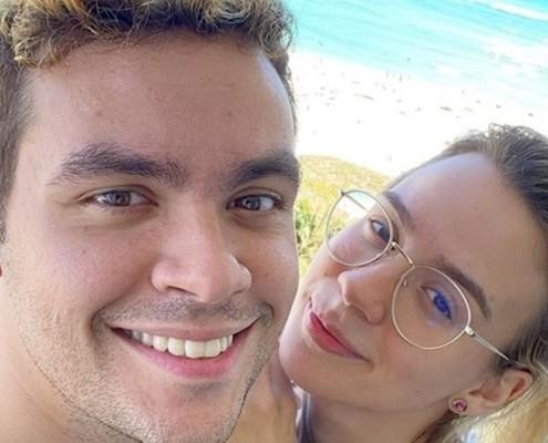Luccas Neto e Jéssica Diehl estão no final da gestação