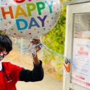 O menino pediu um presente inusitado no seu aniversário de 8 anos