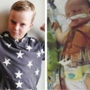 Os médicos não acreditaram que o menino poderia sobreviver