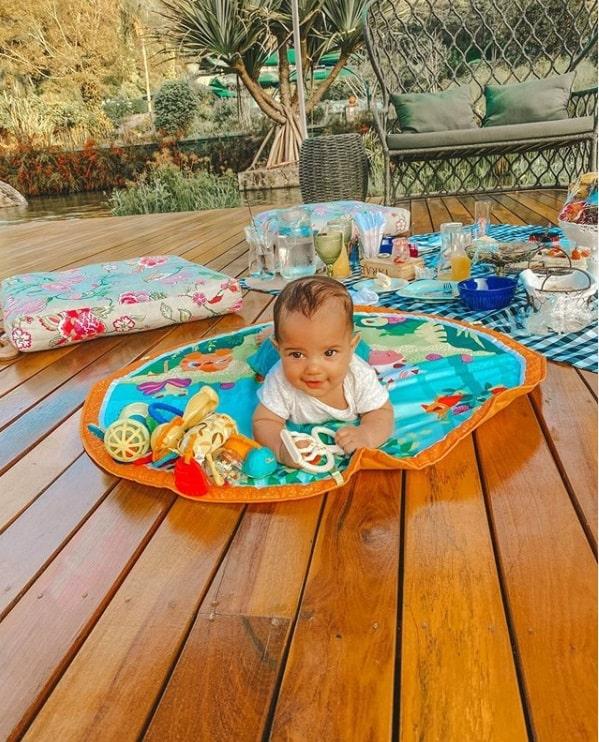 O bebê do cantor Sorocaba