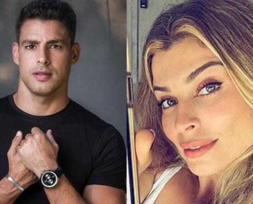 Cauã Reymond mostrou registro de sua filha com Grazi Massafera