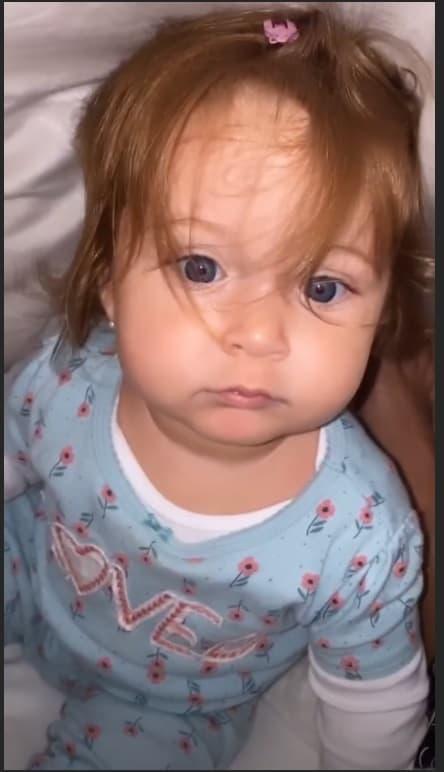 A filha da cantora Claudia Leitte