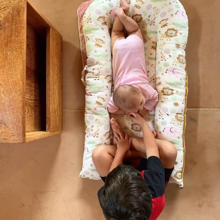 Foto de Fernanda Gentil que levantou as suspeitas de gravidez