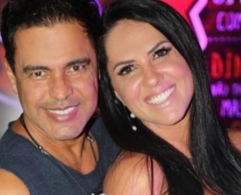 Graciele Lacerda e Zezé Di Camargo apareceram com uma fofa bebê