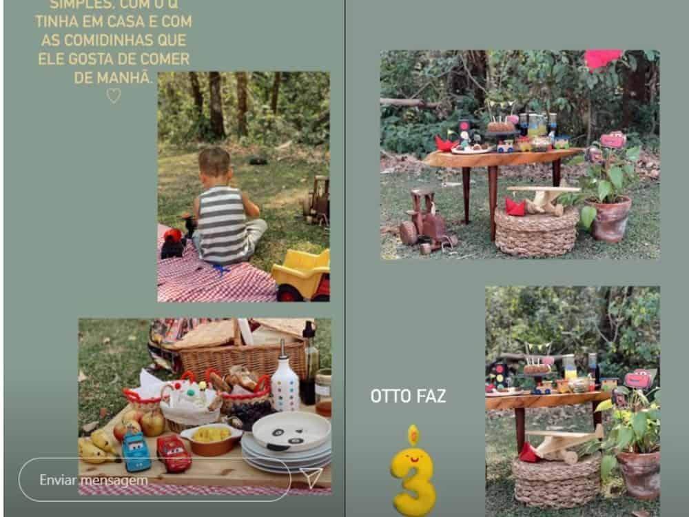 Festa de aniversário do filho de Junior Lima e Monica Benini