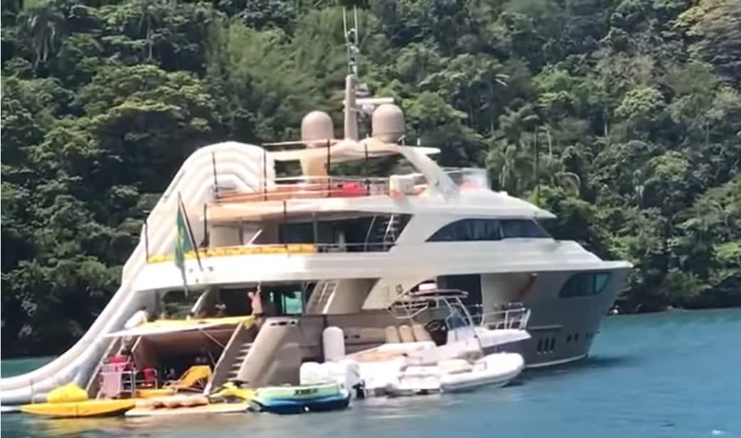 O iate milionário de Luciano Huck e Angélica