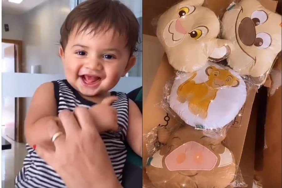 Marília Mendonça mostrou esta foto de seu filho Léo