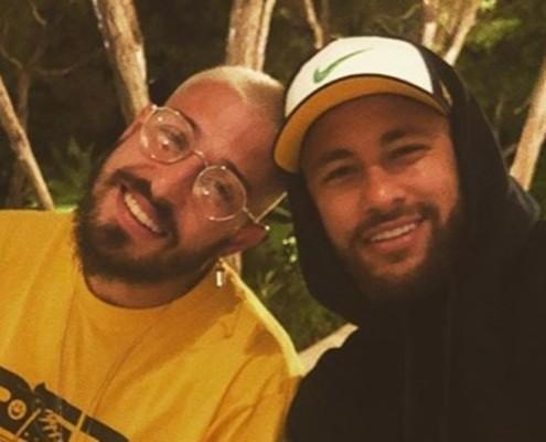 Padrasto do filho de Neymar mostrou o quarto dele