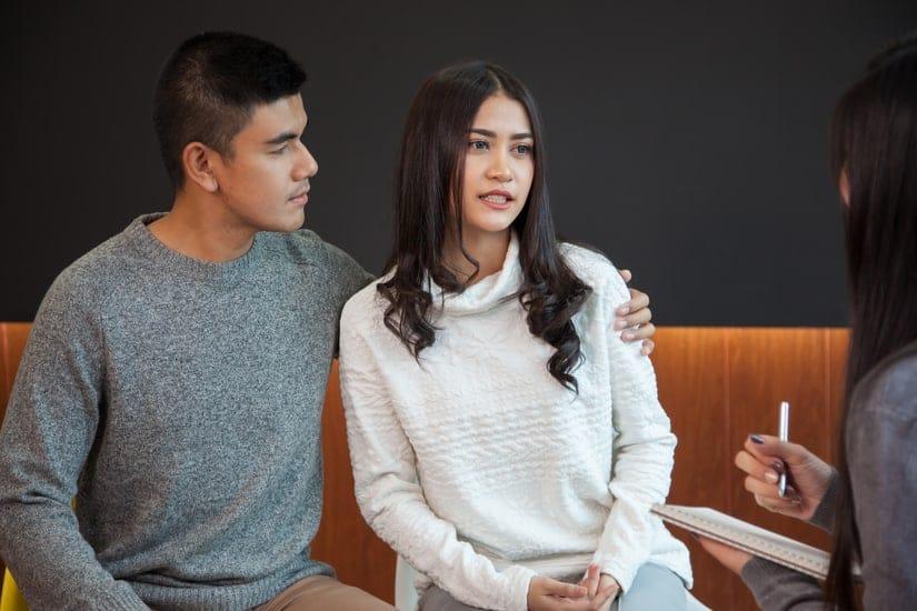 O casal pode se beneficiar bastante do pré-natal psicológico