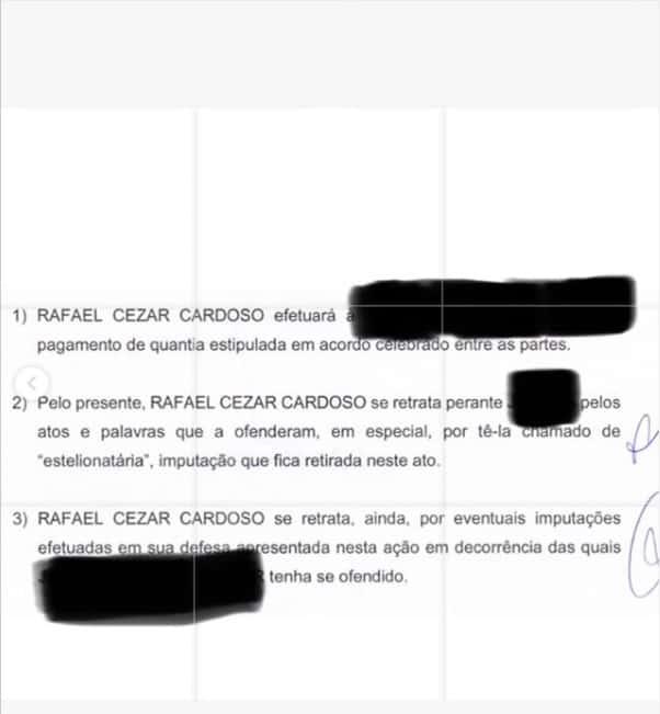 Decisão do processo contra o ator Rafael Cardoso