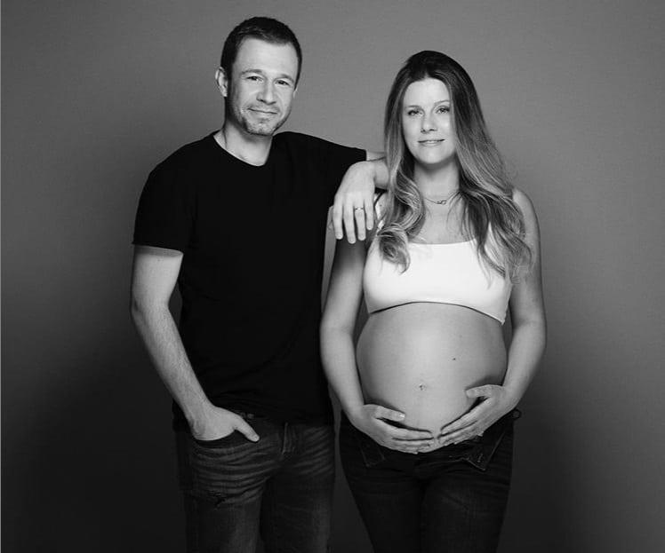 Tiago Leifert anunciou o nascimento da filha com esta linda foto
