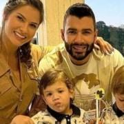 Andressa Suita e Gusttavo Lima levantaram suspeitas de que haviam reatado