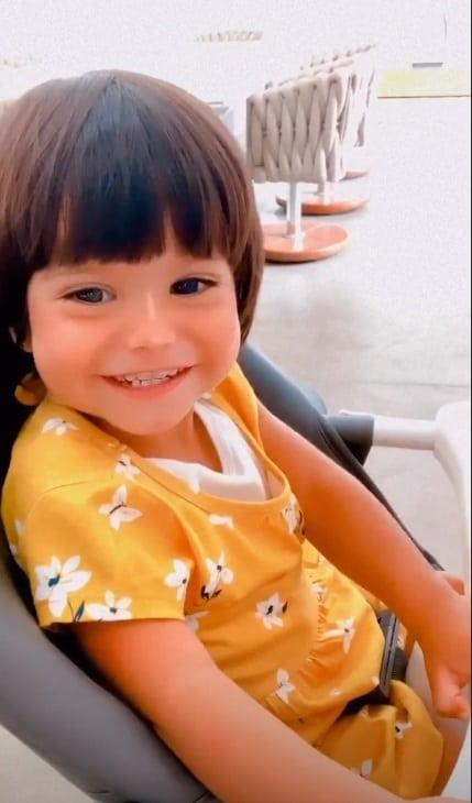 Mayra Cardi mostrou sua filha com Arthur Aguiar melhor