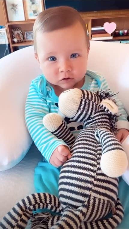 O bebê de Bruno Gagliasso e Giovanna Ewbank