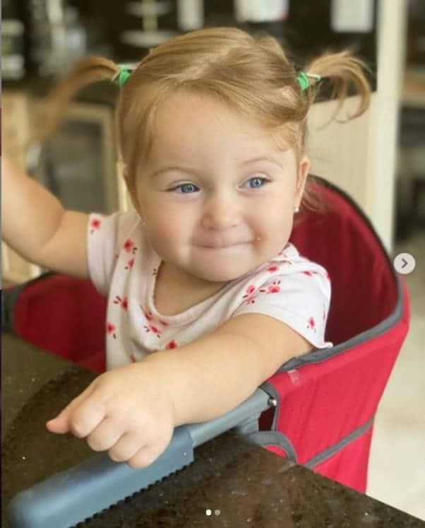 A bebê da cantora Claudia Leitte, a pequena Bela