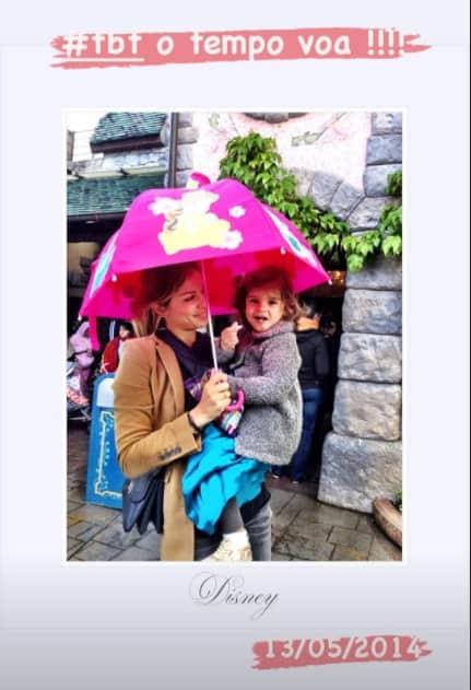 Grazi Massafera encantou ao mostrar a filha com Cauã Reymond ainda bebê