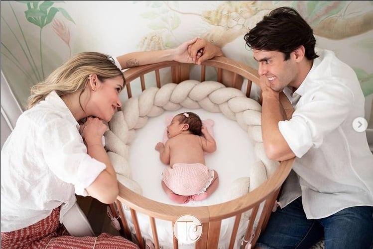 Ensaio newborn da bebê de Kaká e Carol Dias