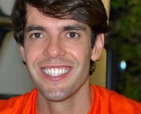 Kaká mostrou o ensaio newborn de sua bebê